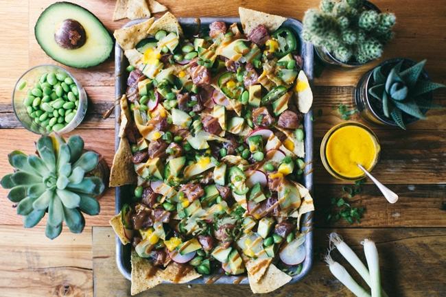poke nachos