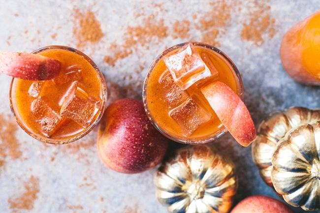 Pumpkin Spice Juice Cooler