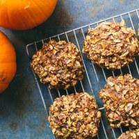Pumpkin Ginger Breakfast Cookies | #virtualpumpkinparty
