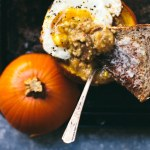 Savory Pumpkin Grits Breakfast Bowl | Brewing Happiness