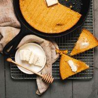 Healthyish Coconut Oil Cornbread | Brewing Happiness