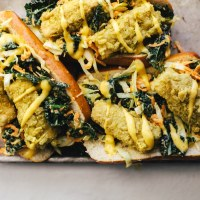 Healthyish Tofu Po Boy | Brewing Happiness