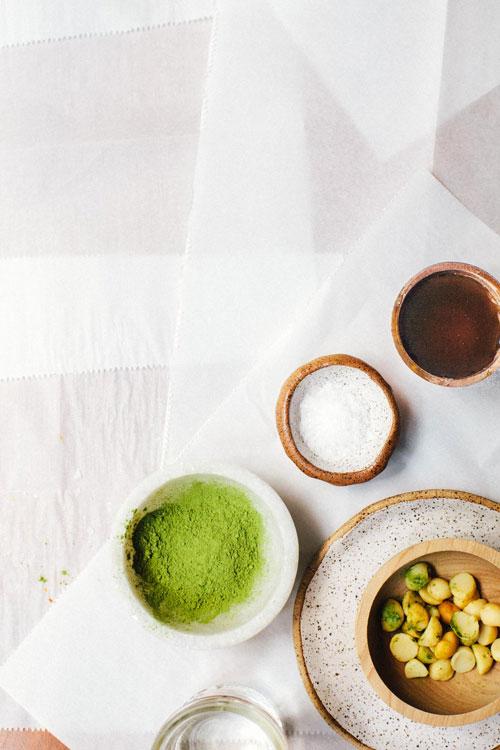 Macadamia Matcha Latte | Brewing Happiness
