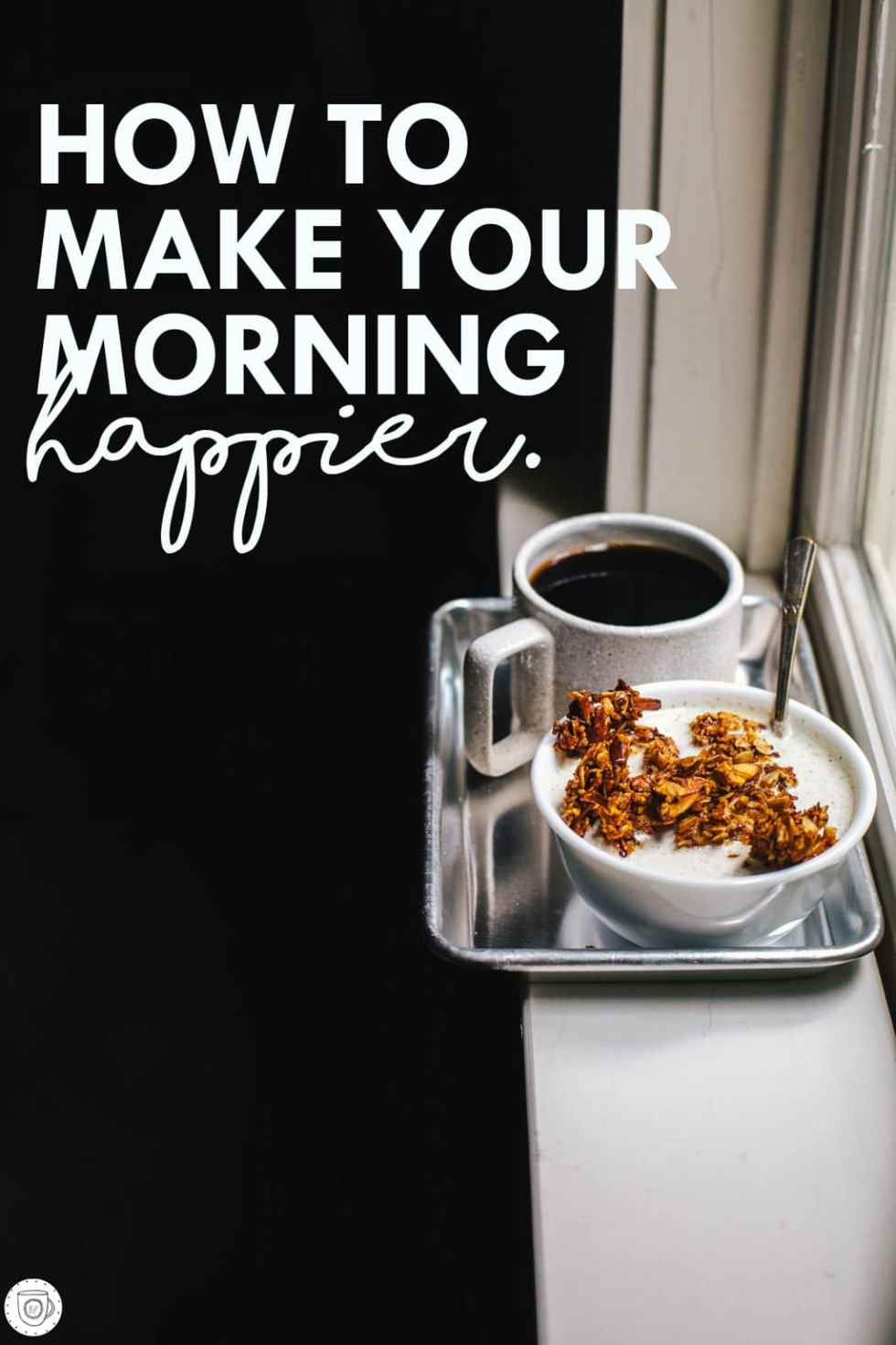 "A real life ""recipe"" for how to make your morning happier!"