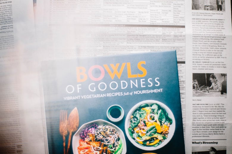 Bowls of Goodness Cookbook by Nourish Atelier