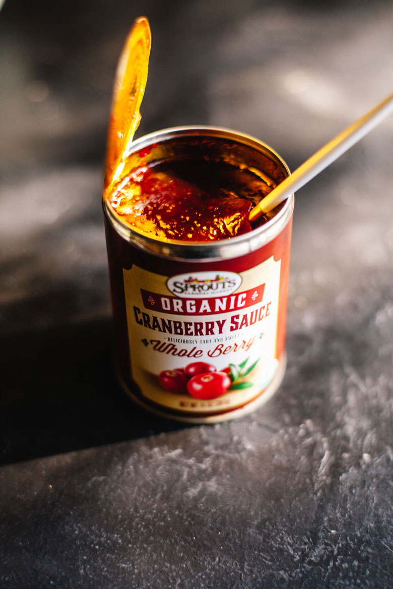 Sprouts Brand Organic cranberry sauce