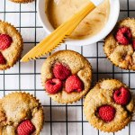 Small Batch Raspberry Rose Muffins with Cinnamon Honey Butter (gluten-free)   Brewing Happiness