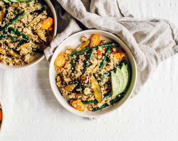 Intuitive Cooking : Farmers' Market Quinoa Salad