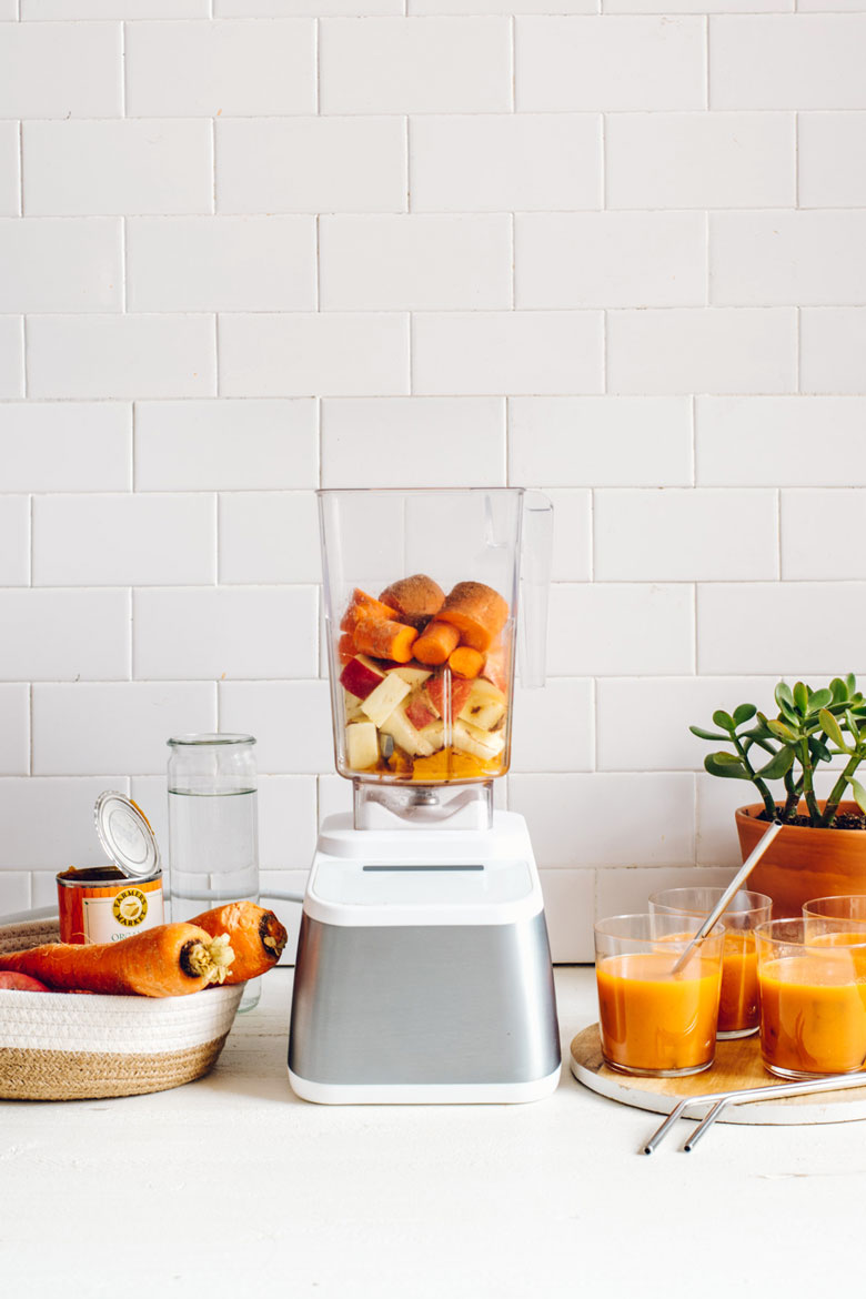 Fall Harvest Pumpkin-Carrot Blender Juice