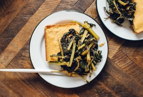 Southern Style Dino Kale | Brewing Happiness