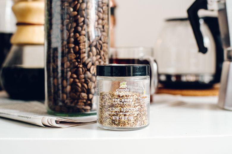 Simply Organic Pre-Brew Coffee Spices