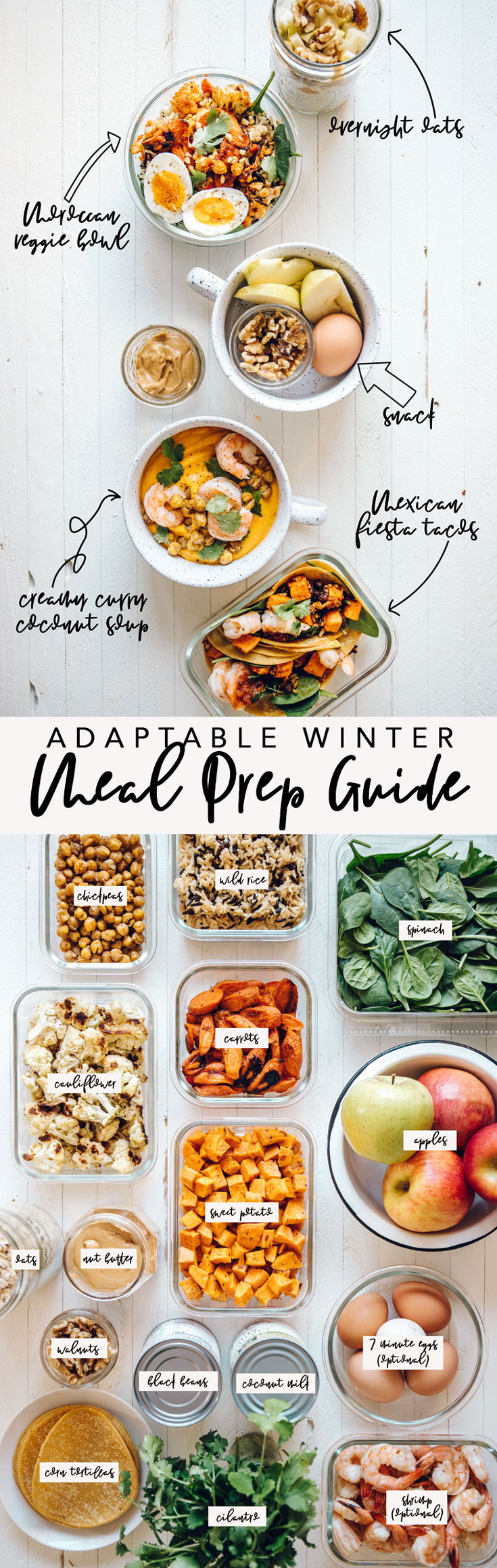 Adaptable Winter Meal Prep Guide