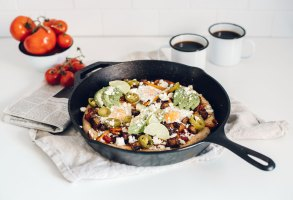 The Ultimate Mexican Breakfast Pizza | Brewing Happiness