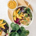 Hawaiian Fish Aloha Bowl with Pickled Mango | Brewing Happiness