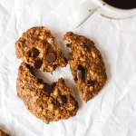 Muesli Kitchen Sink Cookies | Brewing Happiness