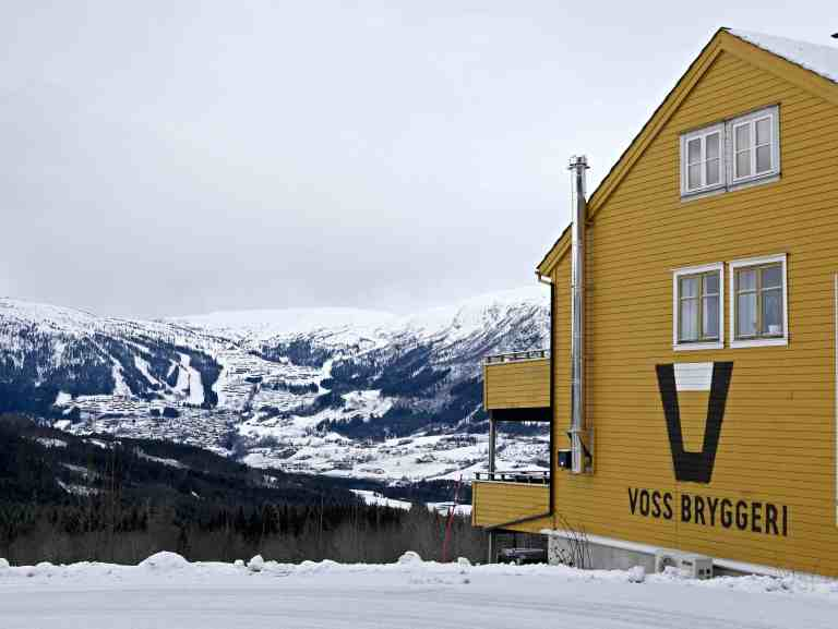 Voss Bryggeri in Voss, Norway