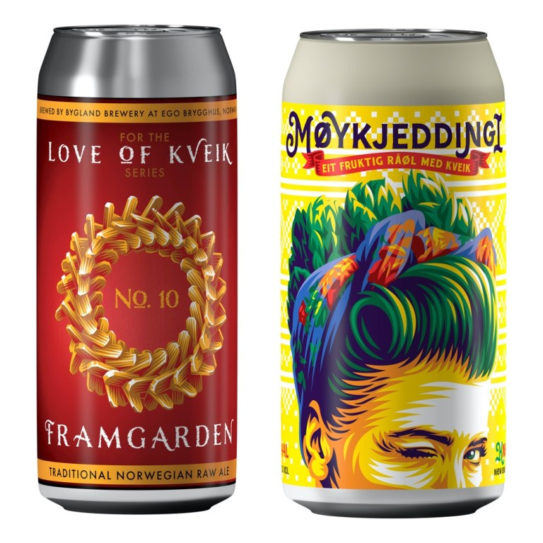 Commercial raw ales from Bygland Bryggeri