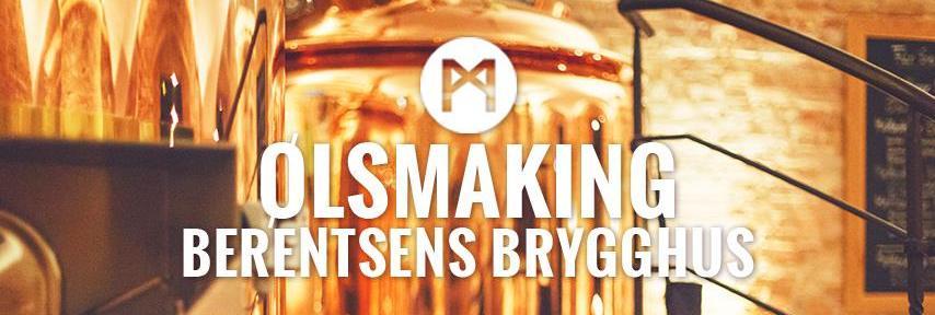 Ølsmaking med Berentsens Brygghus