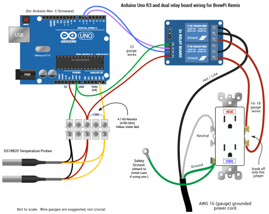 Arduino Electrical Connections