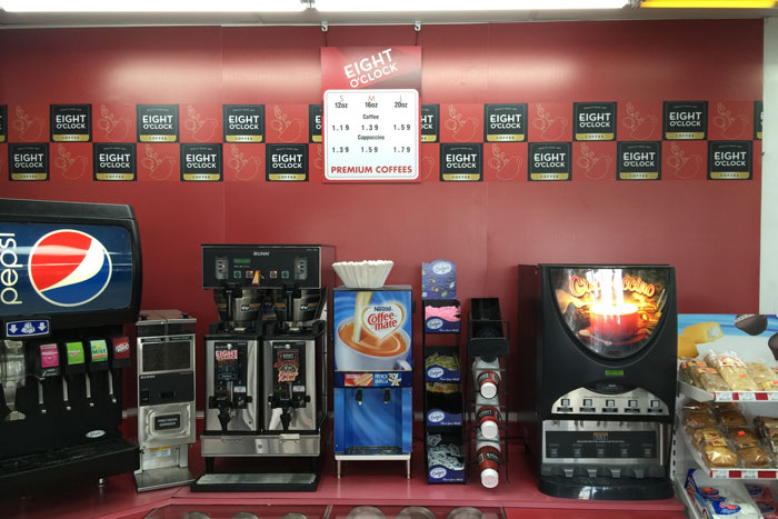 convenience store coffee