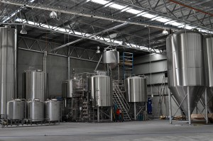 The new New Stone & Wood brewhouse