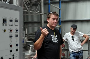 Brad Rogers talks about his new brewery
