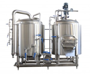 10hL compact footprint brewhouse