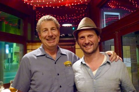 L-R: Steve Grossman with The Local Taphouse co-owner Guy Greenstone