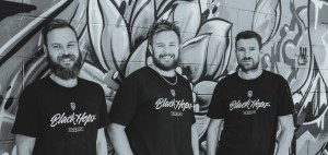 Black Hops Brewing: (l-r) Eddie Oldfield, Michael McGovern  and Dan Norris