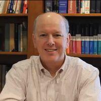 Pastor Doug in his office