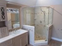 Custom Corner Shower Installation  Brewster Glass