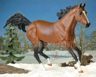 Belinda Kranz Custom And Peter Stone Breyer Horse Collector