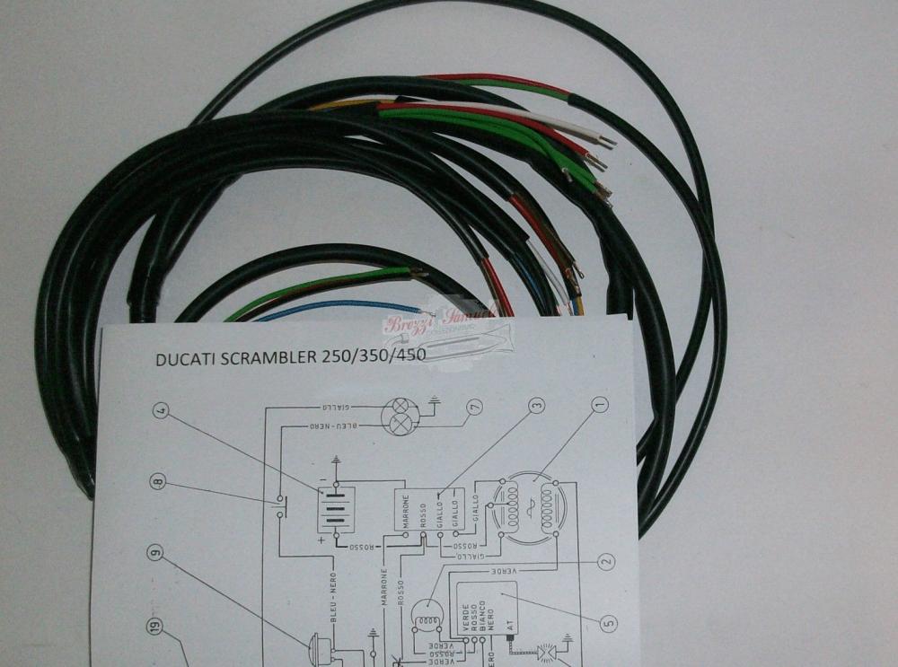 medium resolution of impianto elettrico ducati scrambler mak 3 desmo 250 350 450 schema