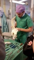 Besuch im Krankenhaus Zams