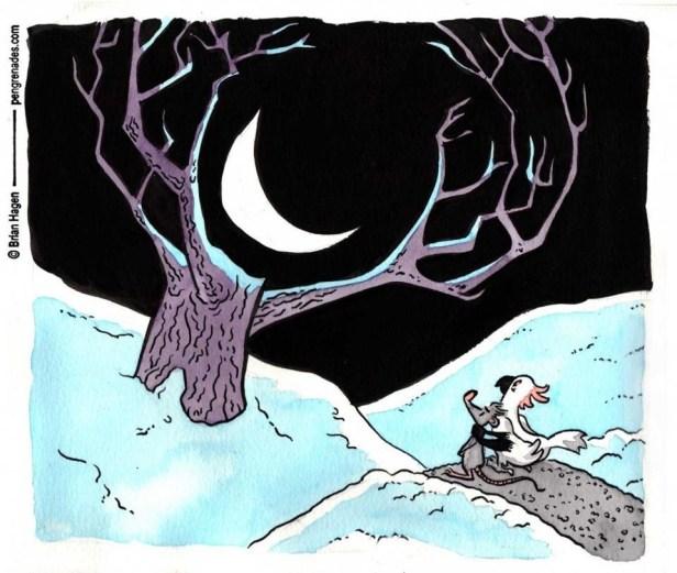 """Commission: """"Moongazing"""""""