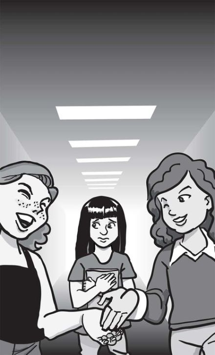 "Children's book: ""Sometime Friends,"" popular girls"