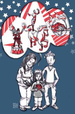 "Children's book: ""Sometime Friends,"" circus tickets"