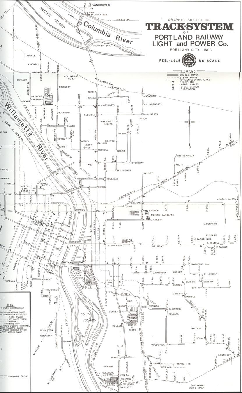 Portland Traction Company History Page