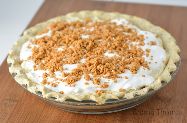 Briana's Peanut Butter Cream Pie