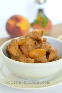 Peachy Crockpot Chicken