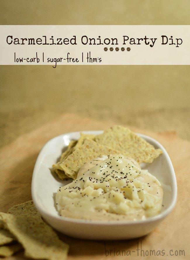 Carmelized Onion Party Dip