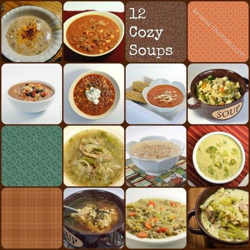 12 Cozy Soups