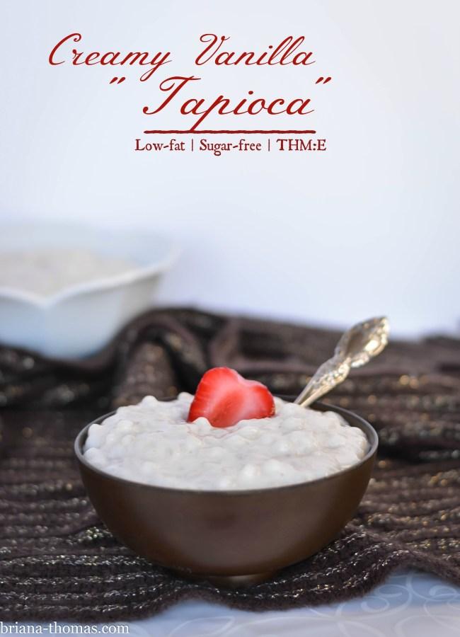 Creamy Vanilla Tapioca