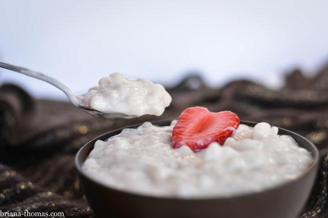 "Creamy Vanilla ""Tapioca"""