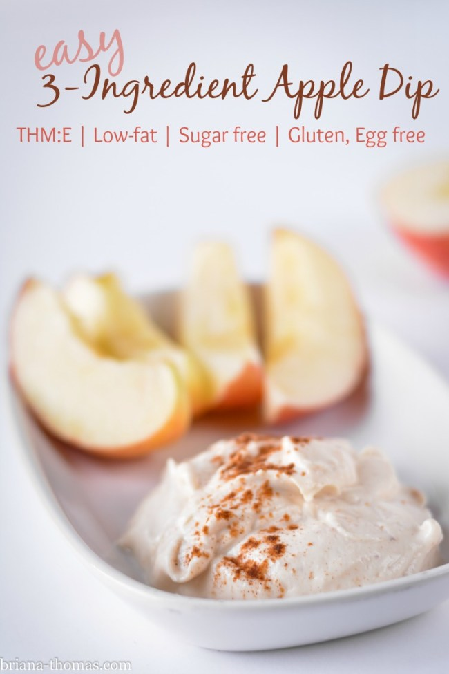 Easy 3-Ingredient Apple Dip