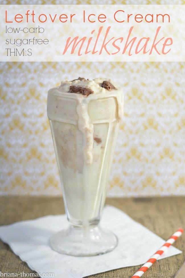Leftover Ice Cream Milkshake