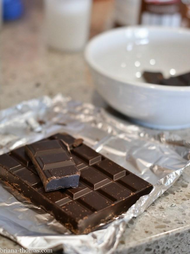 Chocolate Ganache Frosting/Glaze