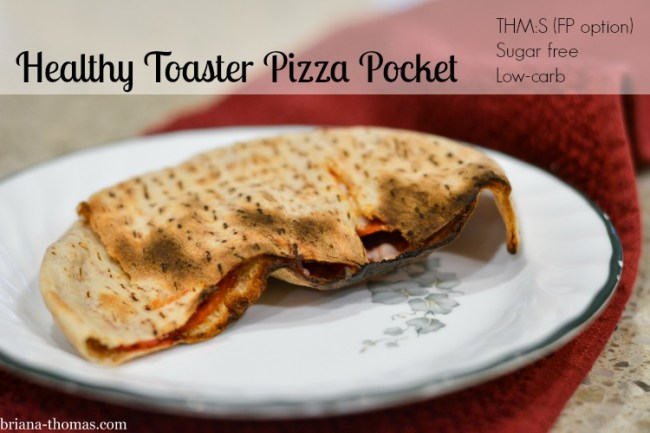 Healthy Toaster Pizza Pocket