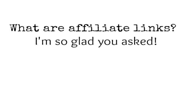 affiliate links banner