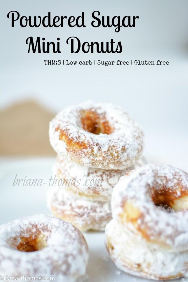 Powdered Sugar Mini Donuts